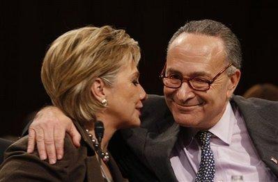 Hillary Rodham Clinton, Charles Schumer