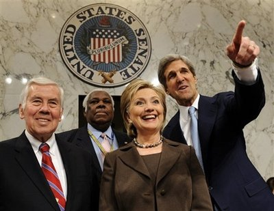 Hillary Rodham Clinton, John Kerry, Richard Lugar