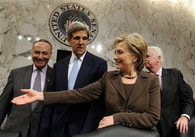Hillary Rodham Clinton, Chris Dodd, John Kerry, Charles Schumer