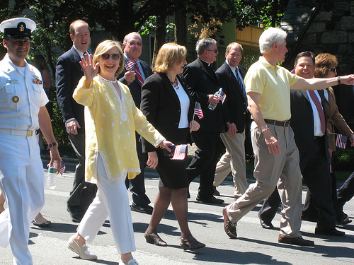 Video Bill Hillary Clinton In The Memorial Day Parade: bill clinton address chappaqua