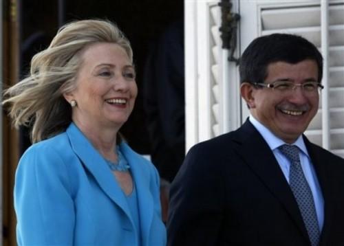Hillary Rodham Clinton, Ahmet Davutoglu