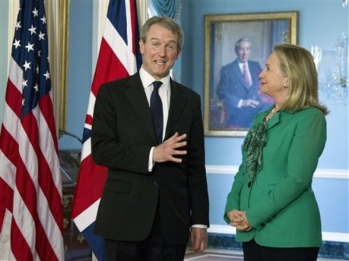 Hillary Rodham Clinton, Owen Paterson