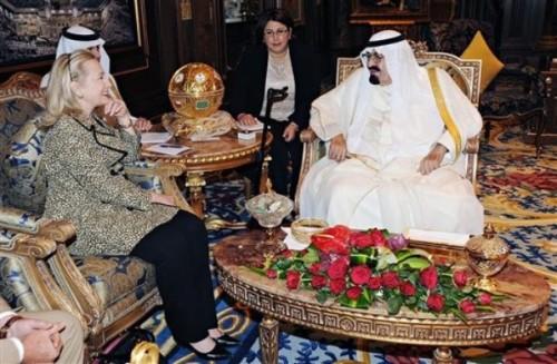 Mideast Saudi Arabia US Clinton