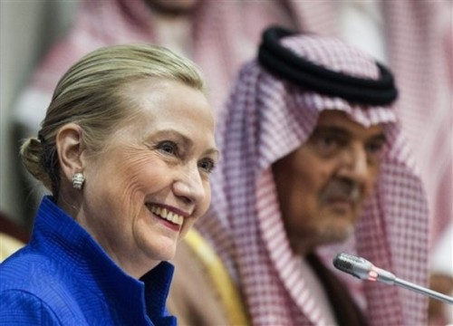 Saud Al Faisal, Hillary Rodham Clinton