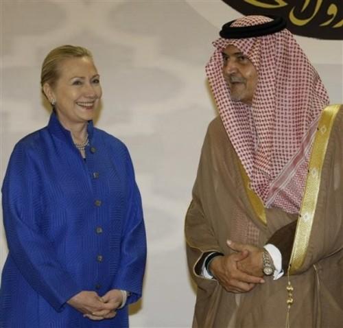 Mideast Saudi Arabia GCC Clinton