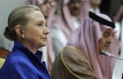 Saudi Arabia Clinton Mideast