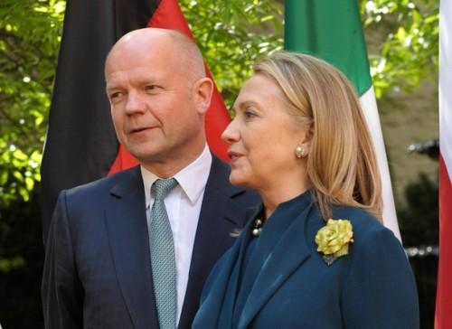 US Secretary of State Hillary Clinton ch