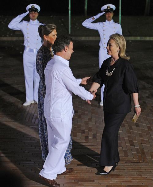 Colombian President Juan Manuel Santos C
