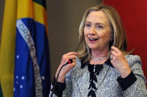US Secretary of State Hillary Clinton sp
