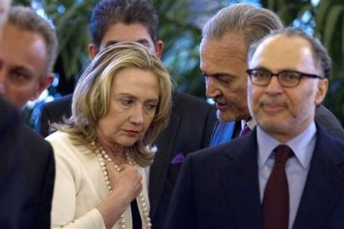 Hillary Rodham Clinton,  Saud al-Faisal
