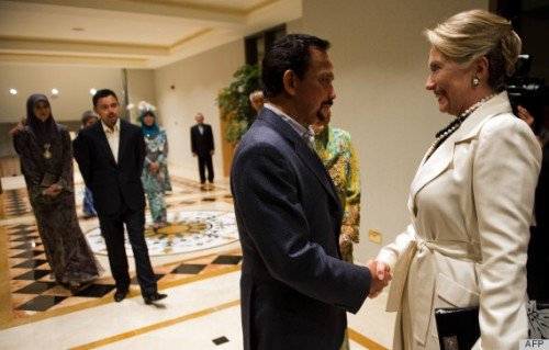 BRUNEI-DIPLOMACY-CLINTON