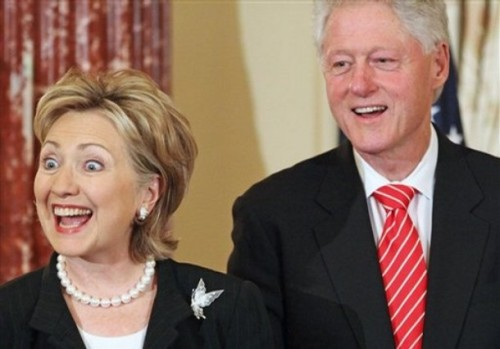 Hillary Rodham Clinton, Bill Clintonn