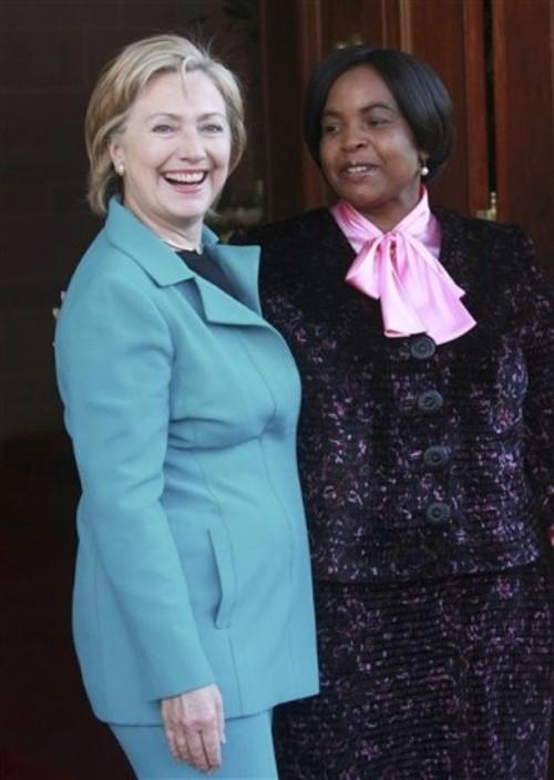 Hillary Rodham Clinton,  Maite Nkoana-Mashabane