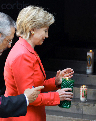 US. Secretary of State, Hillary Clinton visits Mexico