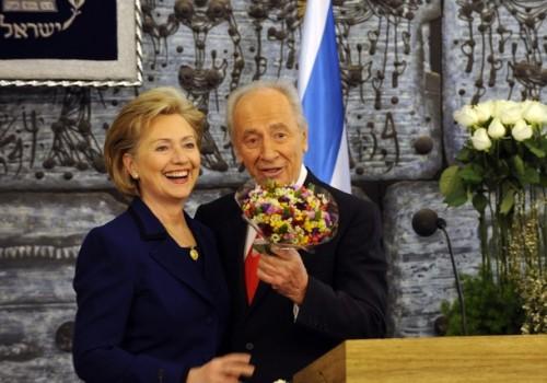 Hillary Clinton Meets Israeli And Palestinian Leaders