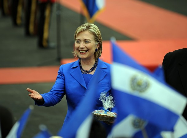 EL SALVADOR-US-CLINTON