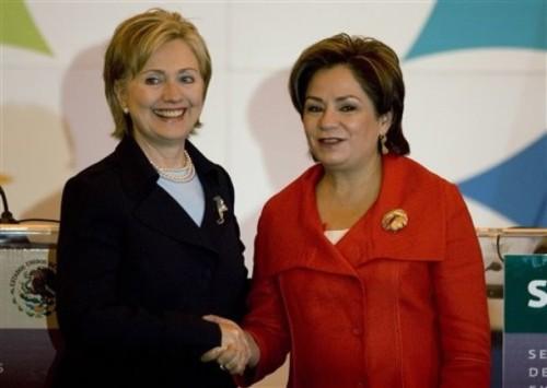 Hillary Rodham Clinton, Patricia Espinosa