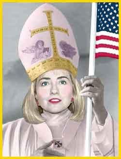 pope-hillary