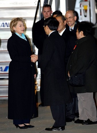 U.S. Secretary Of State Hillary Clinton Visits Japan - Day 2