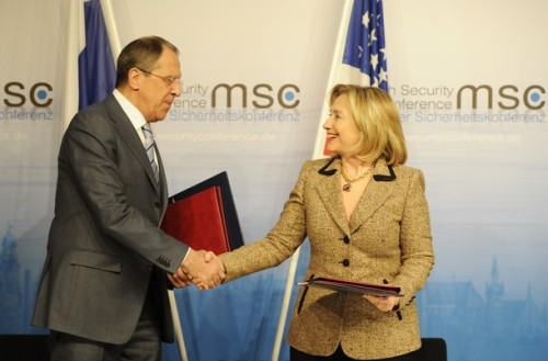 Russian Foreign Minister Sergei Lavrov a