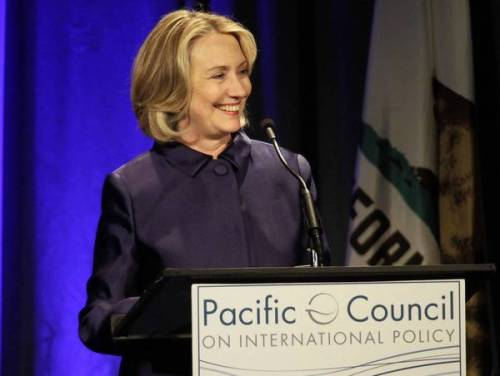 Hillary Rodham Clinton in Beverly Hills