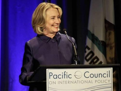 Hillary Rodham Clinton in Beverly Hills