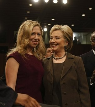 Hillary Rodham Clinton, Chelsea Clinton