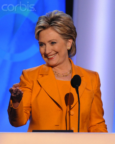 USA - 2008 Presidential Election - Hillary Rodham Clinton Addresses the DNC
