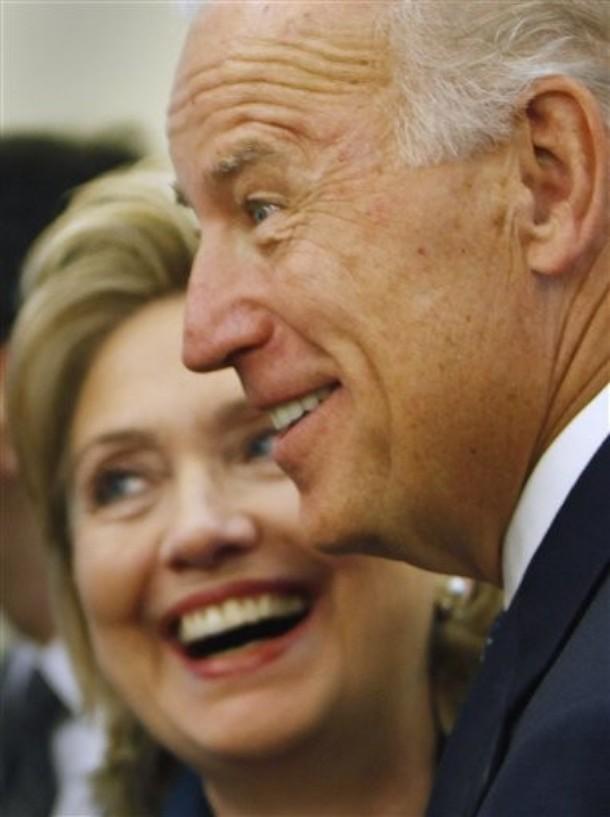 Hillary Rodham Clinton, Joseph Biden