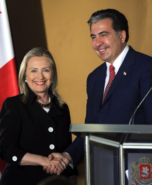 Georgian President Mikheil Saakashvili (
