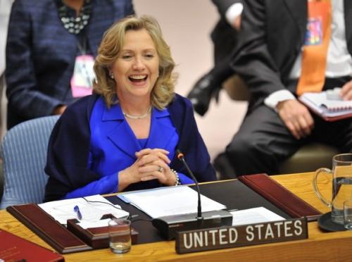 US Secretary of State Hillary Rodham Cli