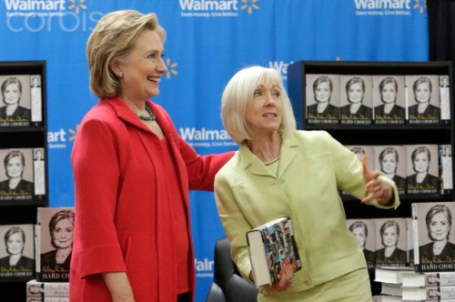 Hillary Clinton Book Tour