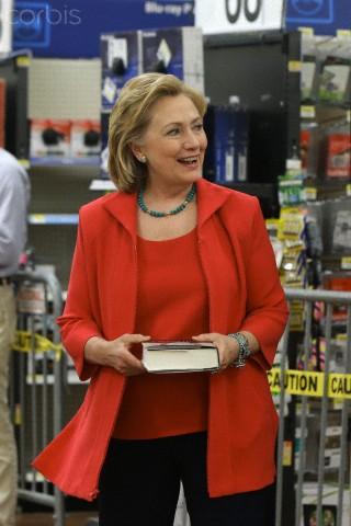 Hillary Clinton Book Tour