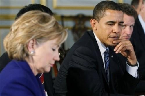 Barack Obama, Hillary Rodham Clinton, Timothy Geithner