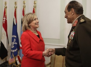 US Secretary of State Hillary Clinton is
