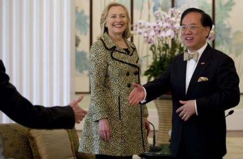 Hong Kong Chief Executive Donald Tsang (
