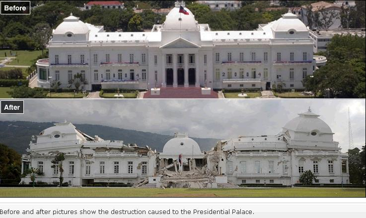 Image result for haiti national palace before earthquake