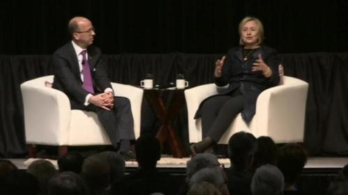"Hillary Clinton says additional sanctions on Iran would be ""strategic error"""