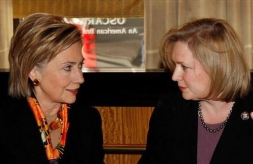 Hillary Clinton, Kirsten Gillibrand