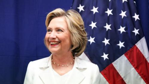 U.S. Democratic presidential candidate Hillary Clinton smiles before holding a roundtable on healthcare in San Juan, Puerto Rico, September 4, 2015. Clinton is campaigning in Puerto Rico the same day that Republican contender Marco Rubio is visiting. While Puerto Rico's residents will not be eligible to cast presidential votes in November 2016, they have a voice in the primaries and, as the island's economy has suffered, an increasing number have moved to U.S. states where they can vote, particularly Florida. REUTERS/Alvin Baez