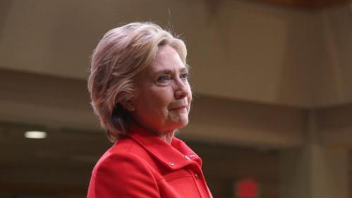 Democratic presidential candidate Hillary Rodham Clinton listens to a question during a town hall meeting Friday, Oct. 16, 2015, in Keene, N.H. (AP Photo/Mary Schwalm)