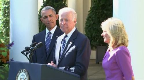 U.S. Vice President Joe Biden says he will not run for president in 2016, ending months of suspense and easing Democratic front-runner Hillary Clinton's path to the party's nomination. Linda So reports.