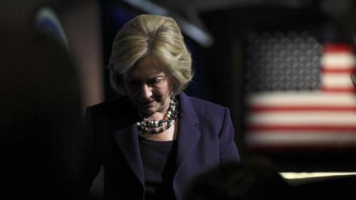 Hillary Clinton di New Hampshire makan malam Jefferson-Jackson
