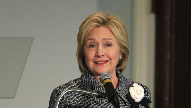 U.S. Democratic presidential candidate Hillary Clinton speaks during the National Bar Association's 60th anniversary of the Montgomery Bus Boycott in Montgomery, Alabama December 1, 2015. REUTERS/Marvin Gentry