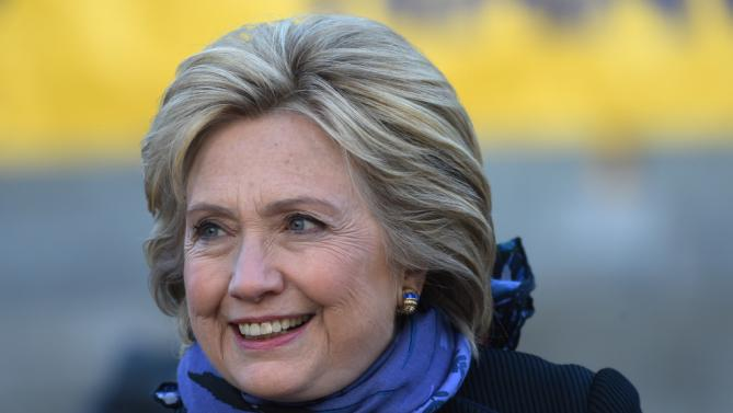 Democratic presidential candidate Hillary Clinton looks on during the King Day at the Dome event celebrating the life of Martin Luther King Jr., Monday, Jan. 18, 2016, in Columbia, S.C. (AP Photo/Rainier Ehrhardt)