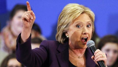 Democratic presidential candidate Hillary Clinton speaks at an event in Hampton, N.H., Tuesday Feb. 2, 2016, Clinton's first day in New Hampshire after winning the Iowa Caucus. (AP Photo/Jacquelyn Martin)