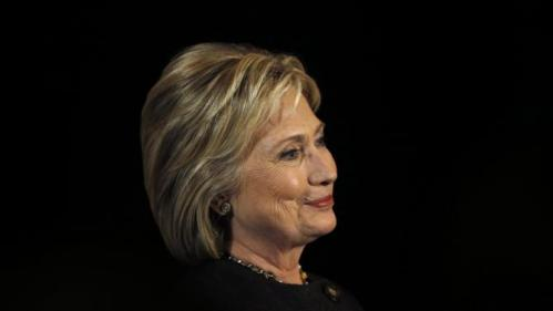 Democratic presidential candidate Hillary Clinton listens to a question during a campaign stop, Wednesday, Feb. 3, 2016, in Dover, N.H. (AP Photo/Matt Rourke)