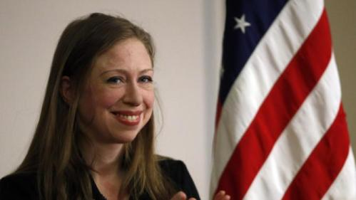 Chelsea Clinton smiles during a campaign stop on behalf of her mother, Democratic presidential candidate Hillary Clinton, at The University of Denver, Thursday, Feb. 18, 2016, in Denver. (AP Photo/Brennan Linsley)