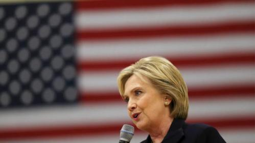 U.S. Democratic presidential candidate Hillary Clinton speaks to voters at the Williamsburg County Recreation Center in Kingstree, South Carolina, February 25, 2016. REUTERS/Randall Hill
