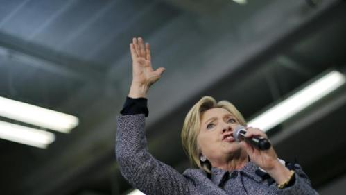 Democratic U.S. Presidential candidate Hillary Clinton speaks during a campaign rally at a community center in Charlotte, North Carolina, March 14, 2016. REUTERS/Carlos Barria